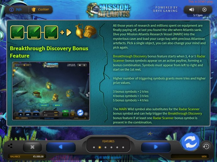 No Deposit Casino Guide - Bonus Feature Rules