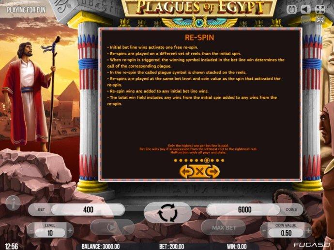 Plagues of Egypt screenshot