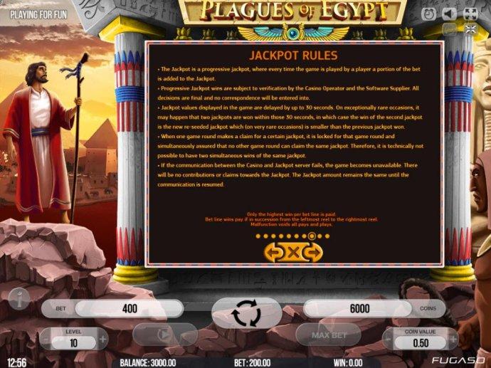 No Deposit Casino Guide - Jackpot Rules