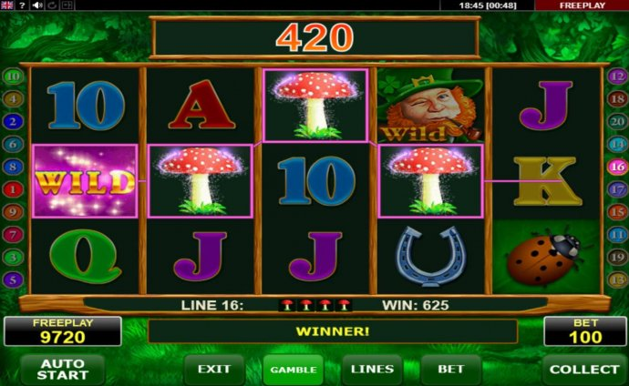 A winning Four of a Kind - No Deposit Casino Guide