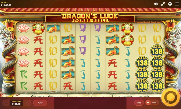 Dragon's Luck Power Reels screenshot