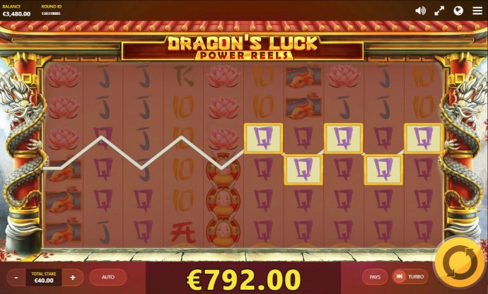 No Deposit Casino Guide image of Dragon's Luck Power Reels