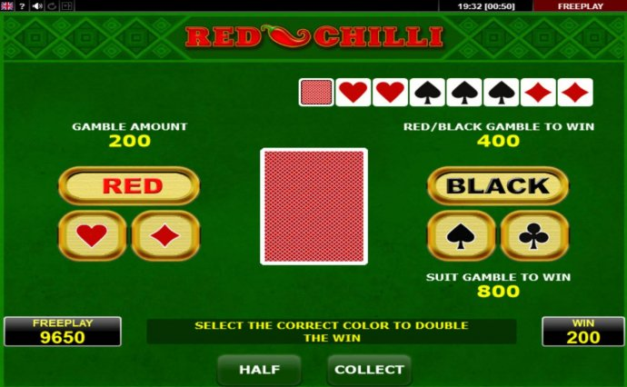 No Deposit Casino Guide image of Red Chilli