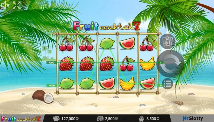 Fruit Cocktail7 by No Deposit Casino Guide