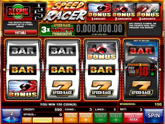 No Deposit Casino Guide image of Speed Racer