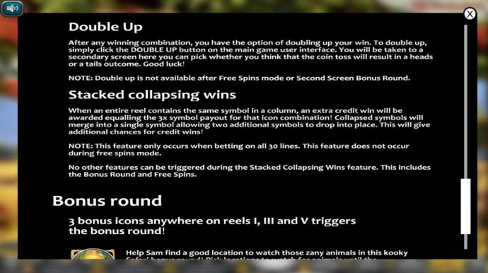 Double Up and Stacked Collapsing Win Rules - No Deposit Casino Guide