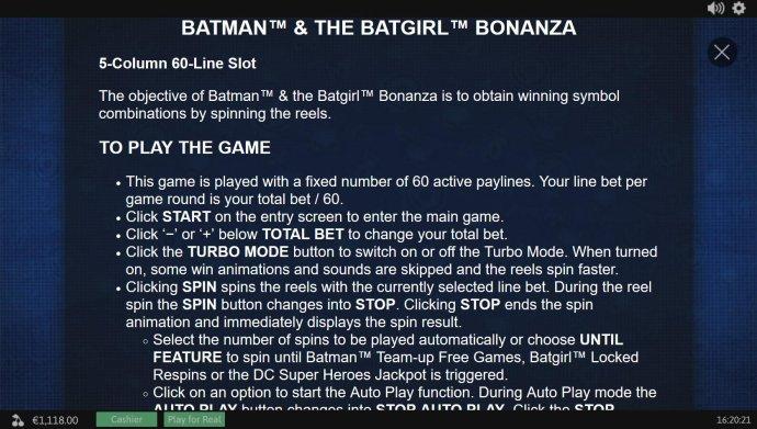 Batman and The Batgirl Bonanza screenshot