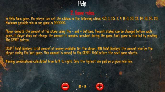Hells Bars by No Deposit Casino Guide