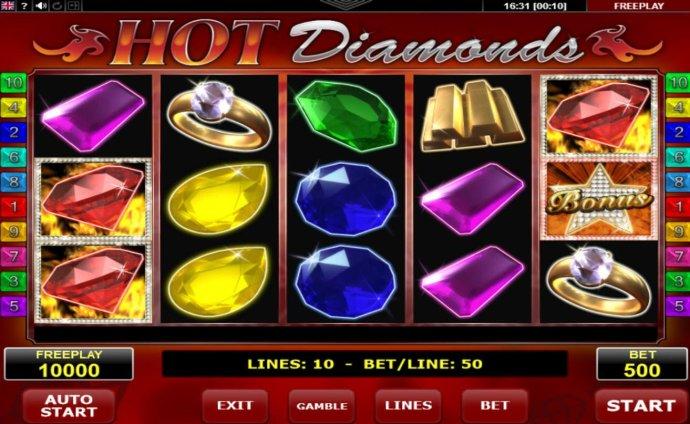 Hot Diamonds screenshot