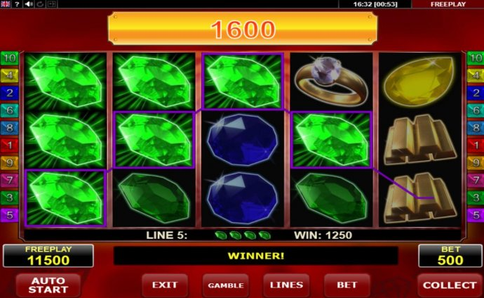 Hot Diamonds by No Deposit Casino Guide