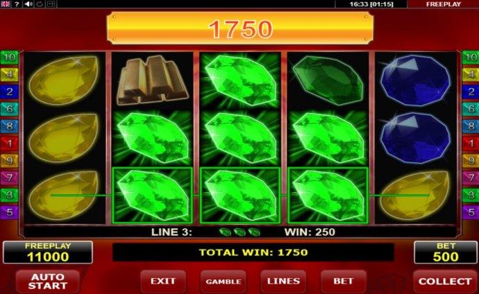 No Deposit Casino Guide image of Hot Diamonds