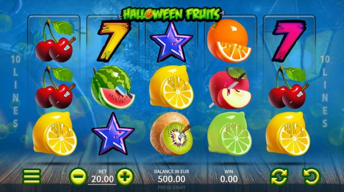 Halloween Fruits by No Deposit Casino Guide