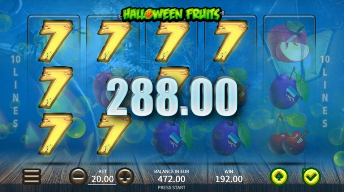 No Deposit Casino Guide image of Halloween Fruits