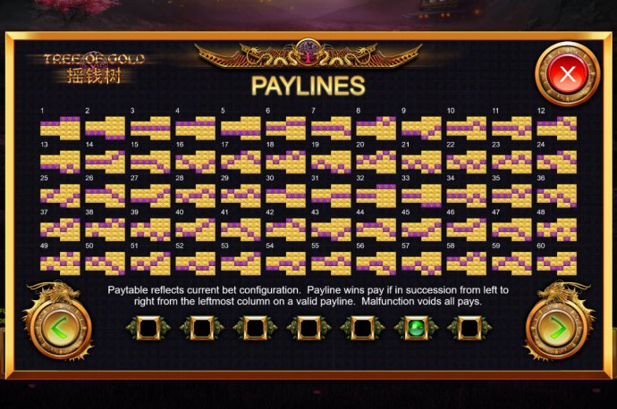 No Deposit Casino Guide image of Tree of Gold