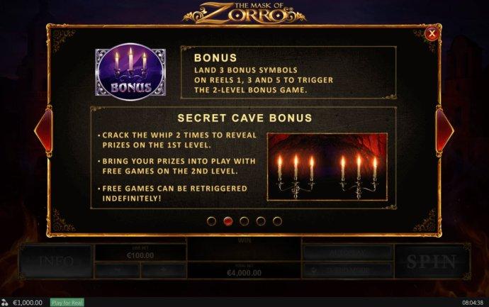 The Mask of Zorro screenshot