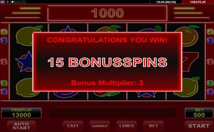 No Deposit Casino Guide - 15 Bonus Spins Awarded