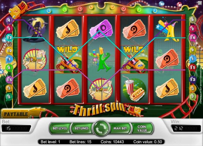 No Deposit Casino Guide image of Thrill Spin