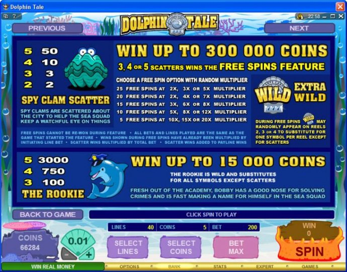Dolphin Tale by No Deposit Casino Guide