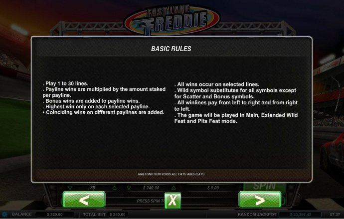 Basic game rules - No Deposit Casino Guide