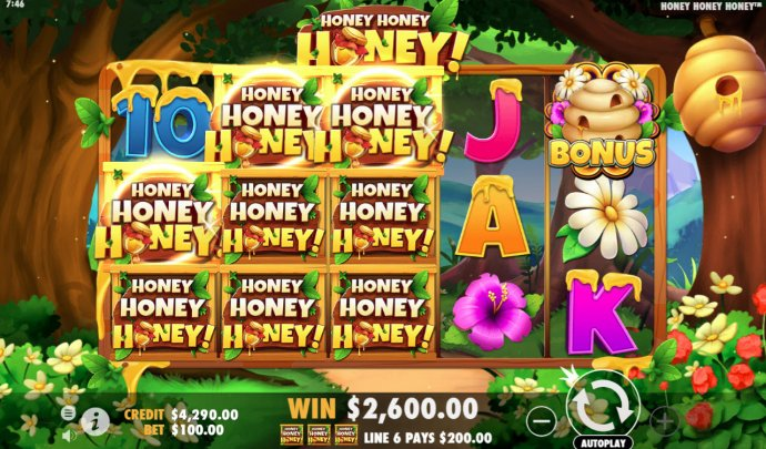 Multiple winning combinations leads to a big win by No Deposit Casino Guide