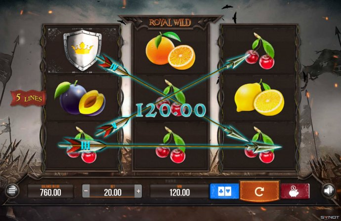 No Deposit Casino Guide image of Royal Wild