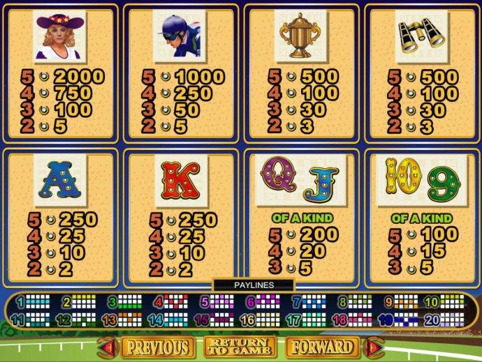 No Deposit Casino Guide image of Derby Dollars