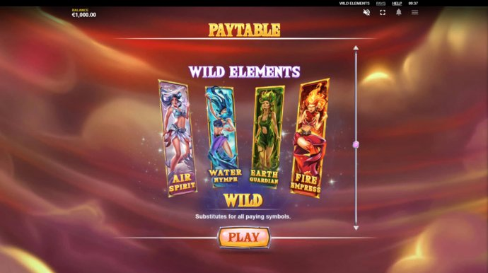 No Deposit Casino Guide - Wild Elements