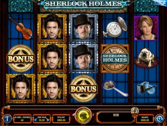 Sherlock Holmes The Hunt for Blackwood screenshot