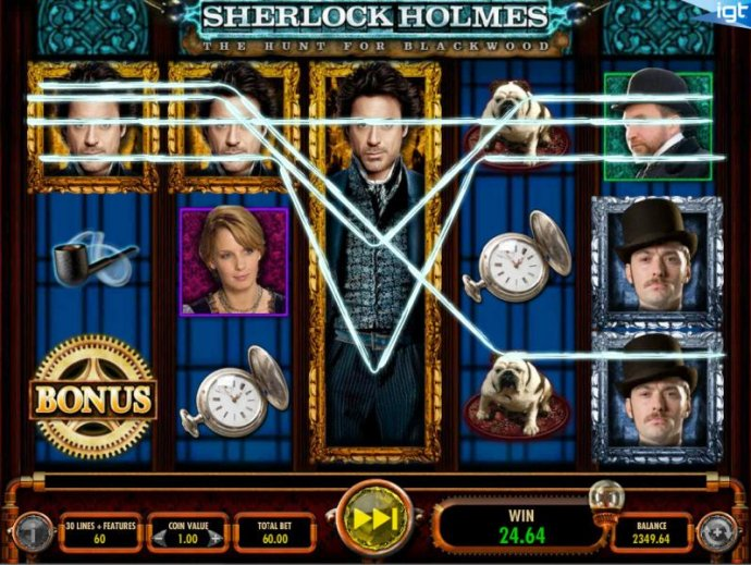 Sherlock Holmes The Hunt for Blackwood by No Deposit Casino Guide