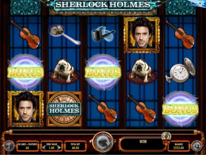 No Deposit Casino Guide image of Sherlock Holmes The Hunt for Blackwood