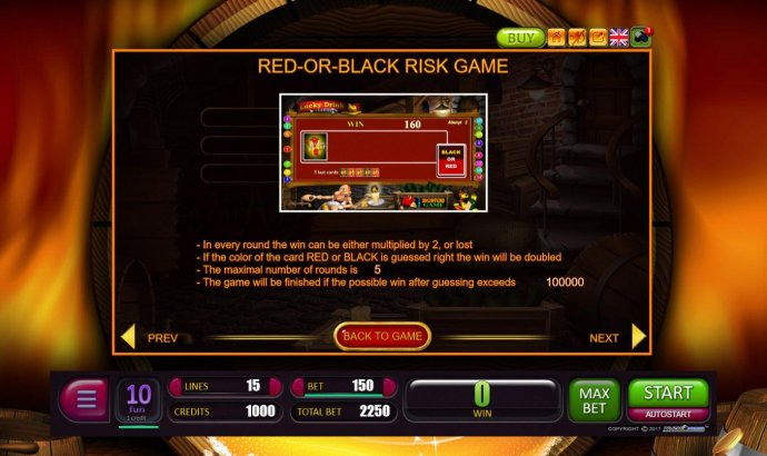 Red-Or-Black Risk Game Rules by No Deposit Casino Guide