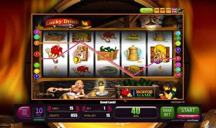 Winning paylines by No Deposit Casino Guide