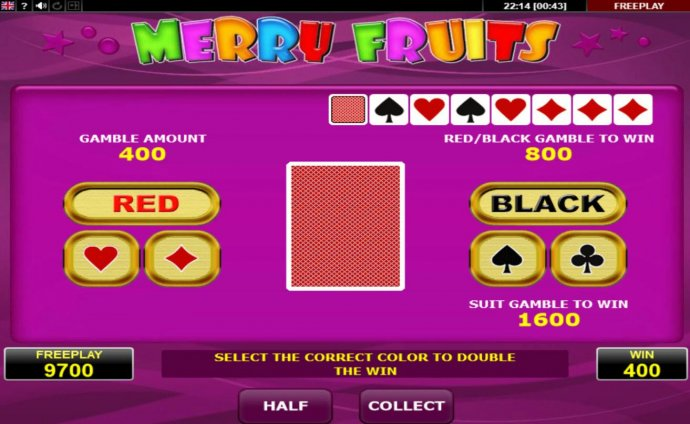 No Deposit Casino Guide image of Merry Fruits