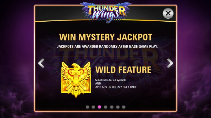 No Deposit Casino Guide image of Thunder Wings