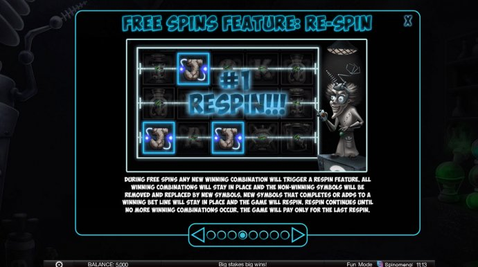 Respin Feature - No Deposit Casino Guide