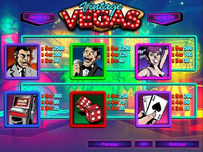 Vintage Vegas screenshot