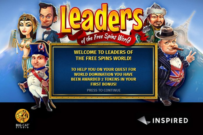 Leaders of the Free Spins World screenshot