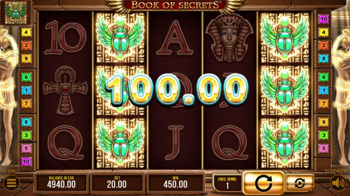 Book of Secrets by No Deposit Casino Guide