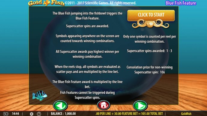 No Deposit Casino Guide image of Gold Fish