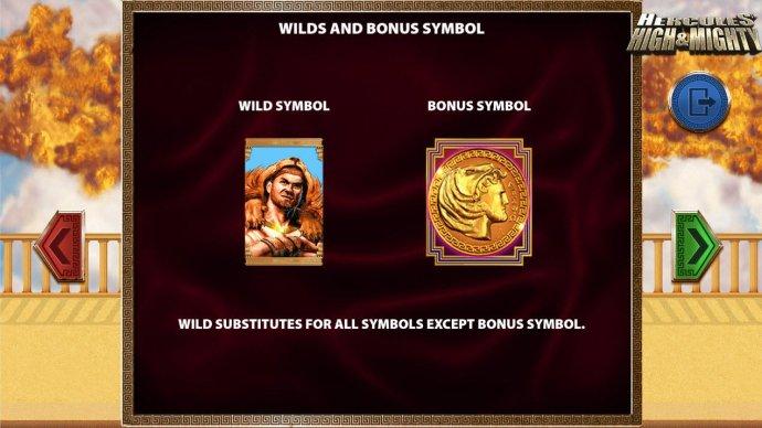 Hercules represents both the Wild and Bonus symbols. - No Deposit Casino Guide