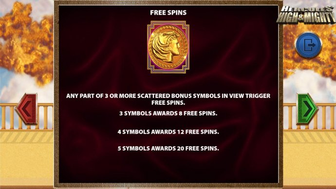 No Deposit Casino Guide image of Hercules High & Mighty