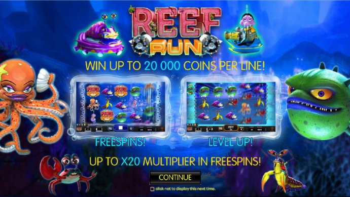 Reef Run by No Deposit Casino Guide