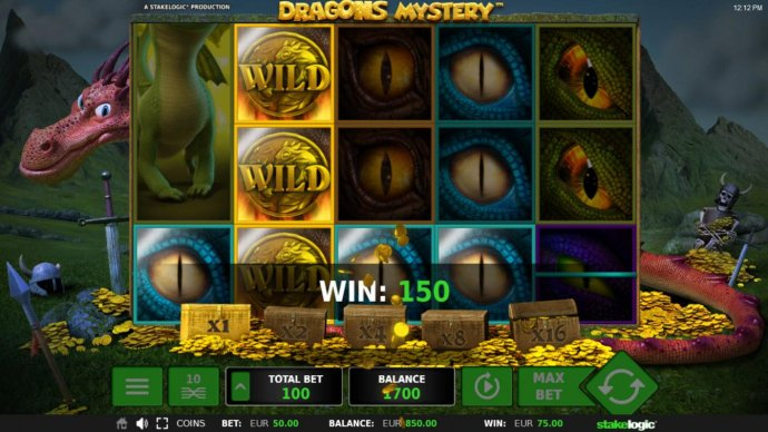 Expanded wild triggers multiplie winning paylines - No Deposit Casino Guide