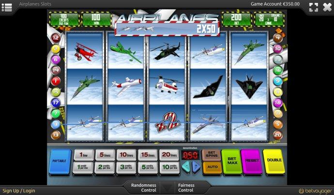 Airplanes screenshot
