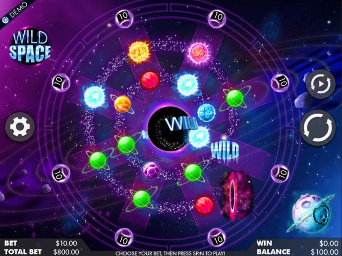Wild Space by No Deposit Casino Guide
