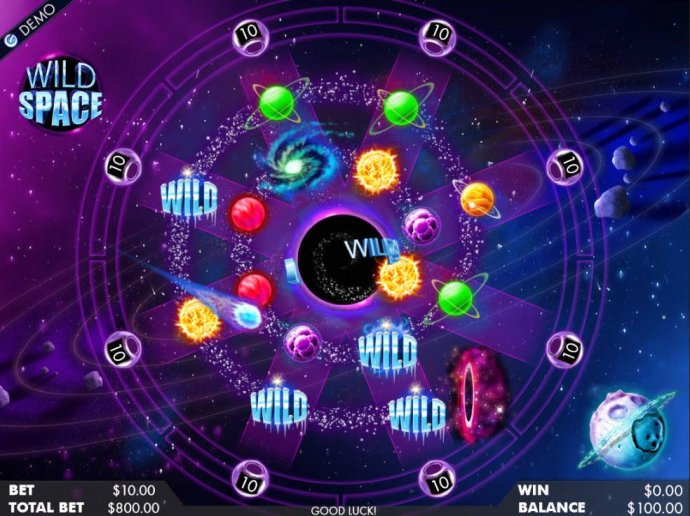 No Deposit Casino Guide image of Wild Space