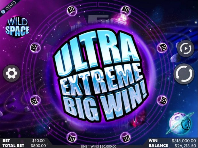 An ultre extreme big win triggered. - No Deposit Casino Guide