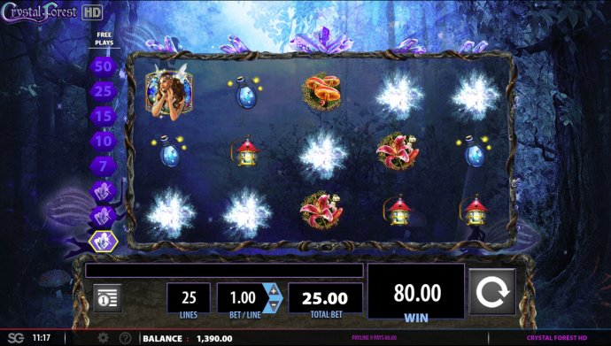 Crystal Forest by No Deposit Casino Guide