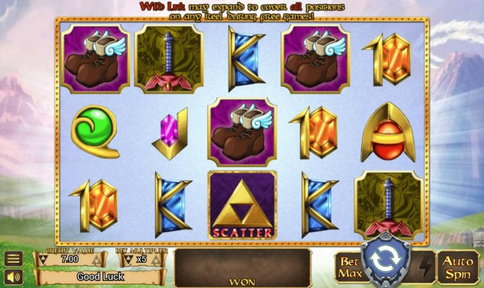 No Deposit Casino Guide image of The Legend of Link