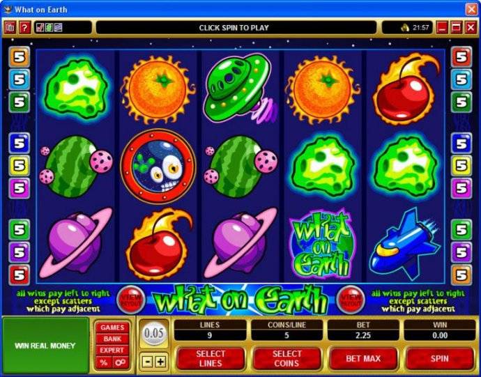 No Deposit Casino Guide image of What on Earth